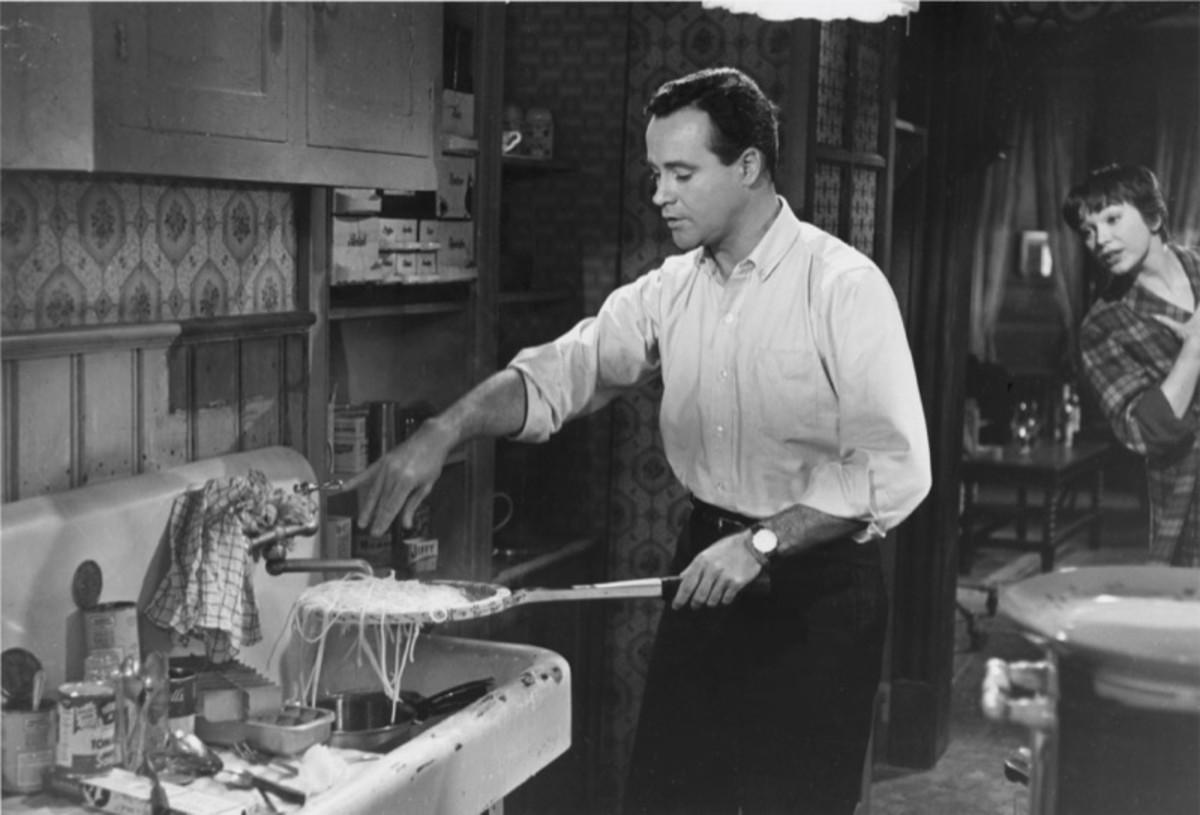 """""""The Apartment"""" - Jack Lemmon, Shirley MacLaine"""