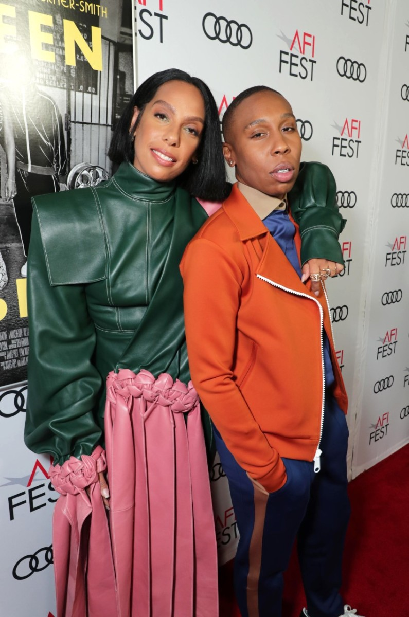 Lena Waithe, Writer/Producer, and Melina Matsoukas, Director/Producer, attend the QUEEN & SLIM World Premiere Gala Screening at AFI FEST 2019 in Hollywood, CA on Thursday, November 14, 2019. Photo Credit Eric Charbonneau
