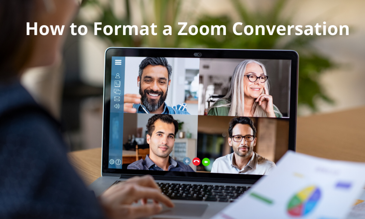 How to Format a Zoom Conversation
