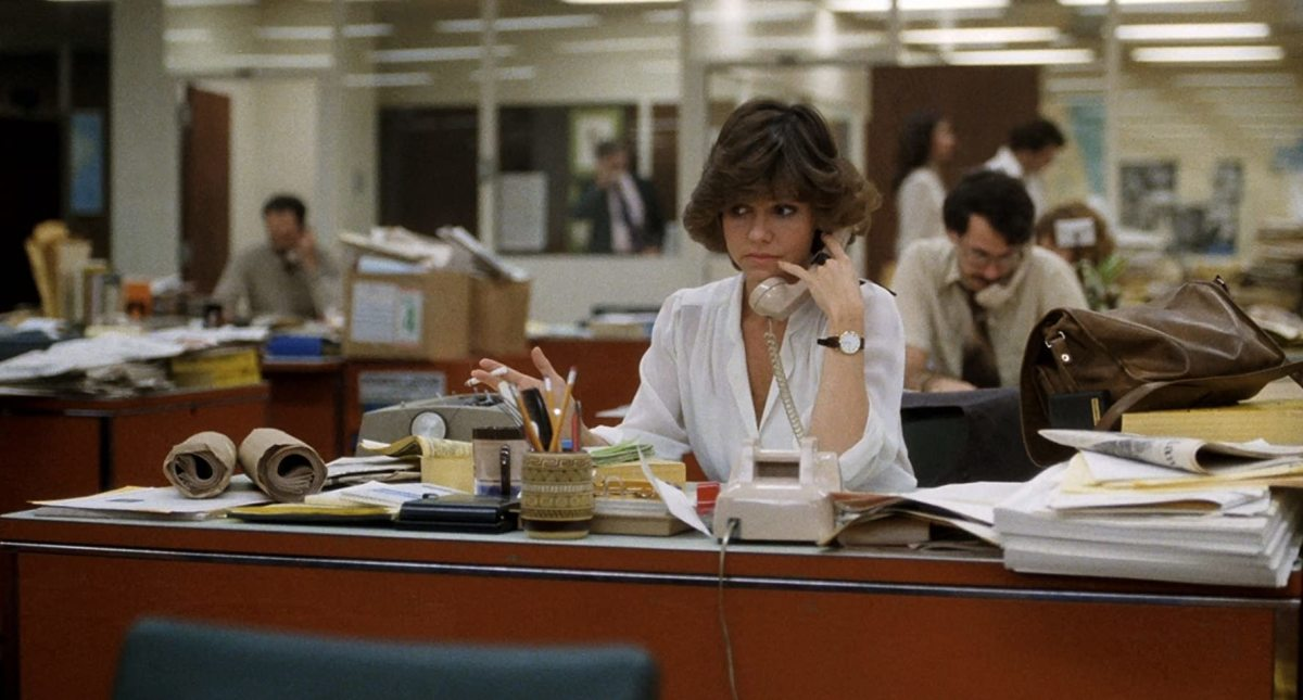 "Sally Fields in ""Absence of Malice'"