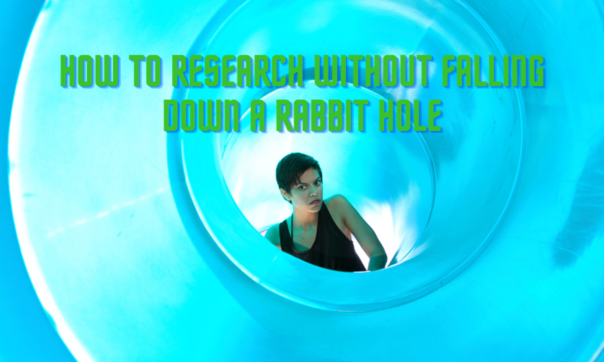 How to Research Without Falling Down a Rabbit Hole