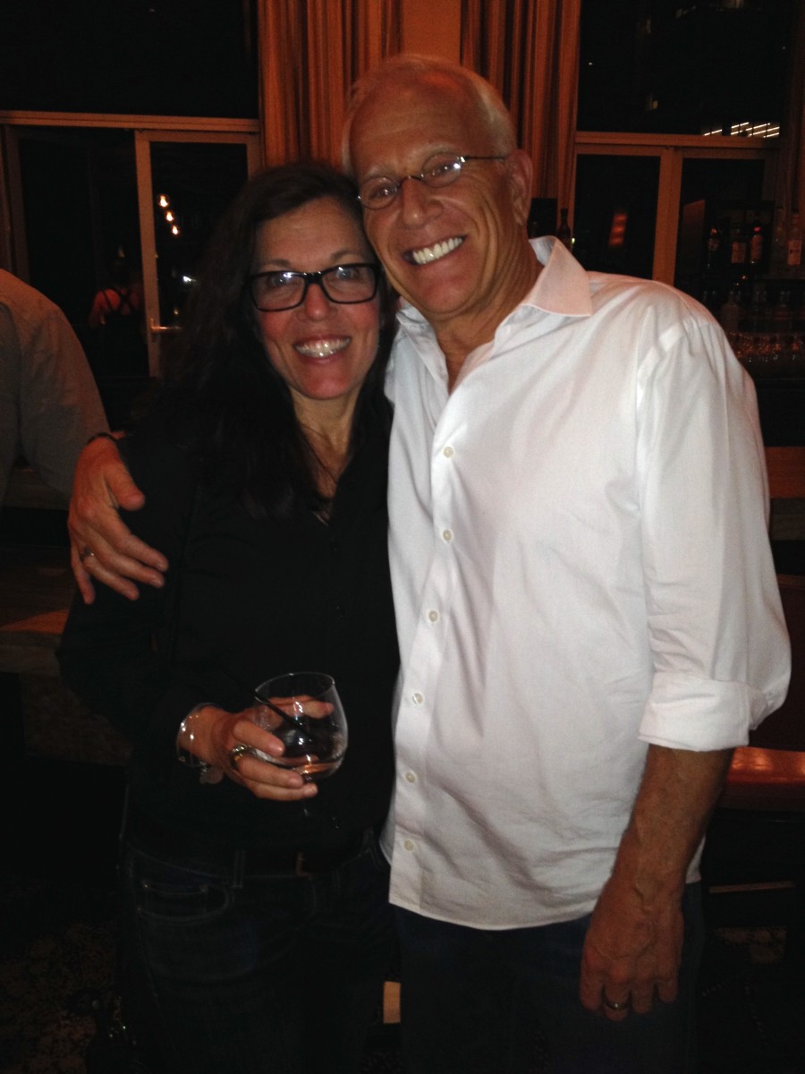 "I made so many life-long friends, including Gary Goldstein, Producer of ""Pretty Woman,"" here at the 2014 Screenwriters World Conference, who I still speak with every week."