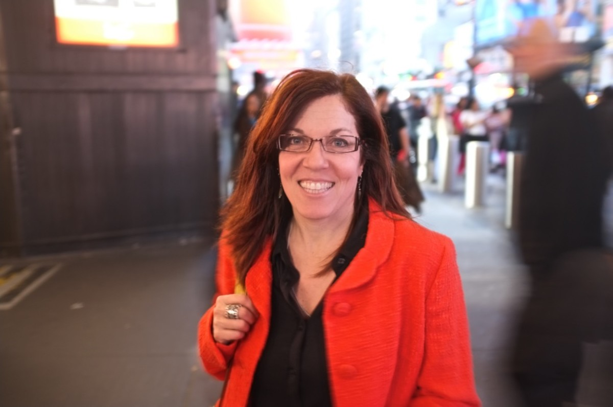 My first day of work as the Editor of Script in 2012, outside Penn Station, NYC.
