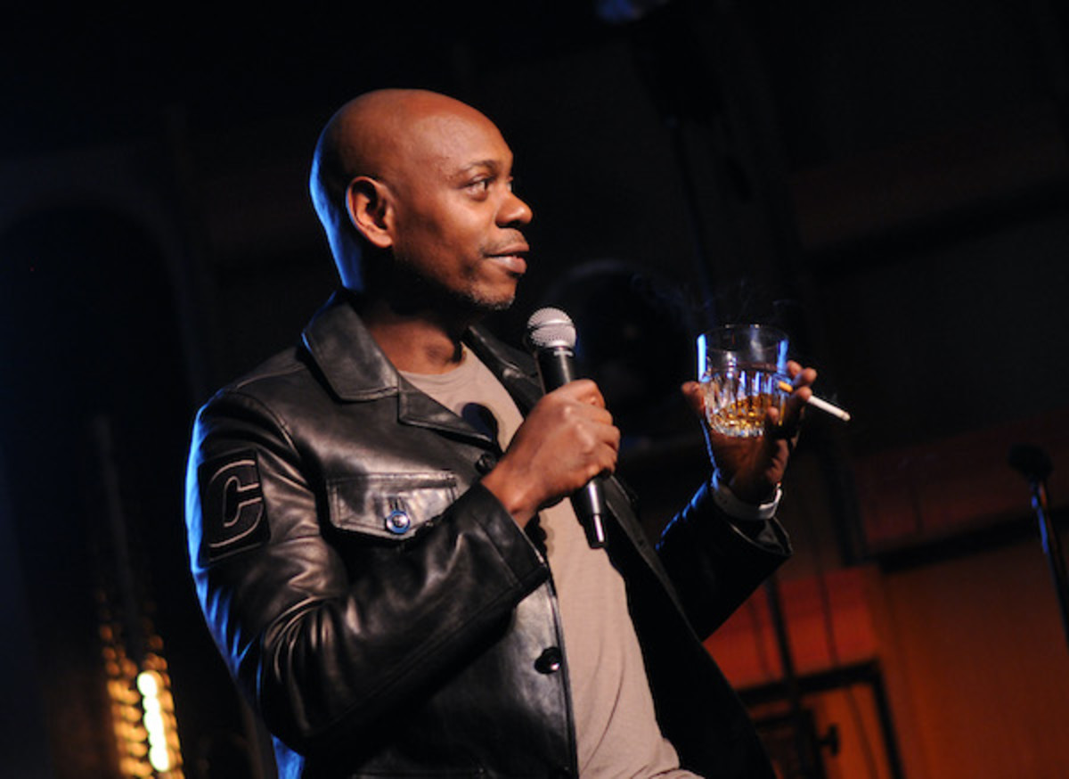 Dave Chappelle performs at The Imagine Ball Honoring Serena Williams Benefitting Imagine LA Presented By John Terzian & Val Vogt on September 23, 2018 in Los Angeles, California.