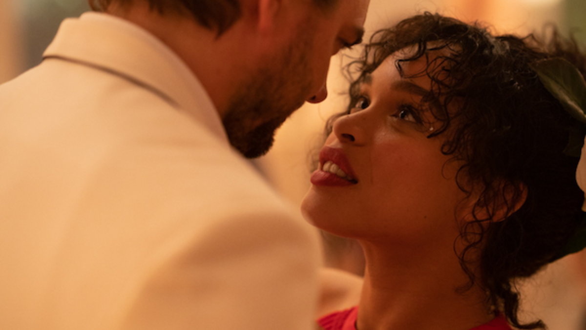 Cleopatra Coleman (Sara) and Nick Thune (Godfrey), Courtesy of Lionsgate Movies