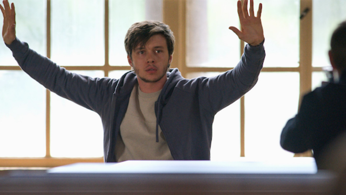 Nick Robinson as Ross Ulbricht in the crime thriller film, SILK ROAD, A Lionsgate release. Photo courtesy of Lionsgate.