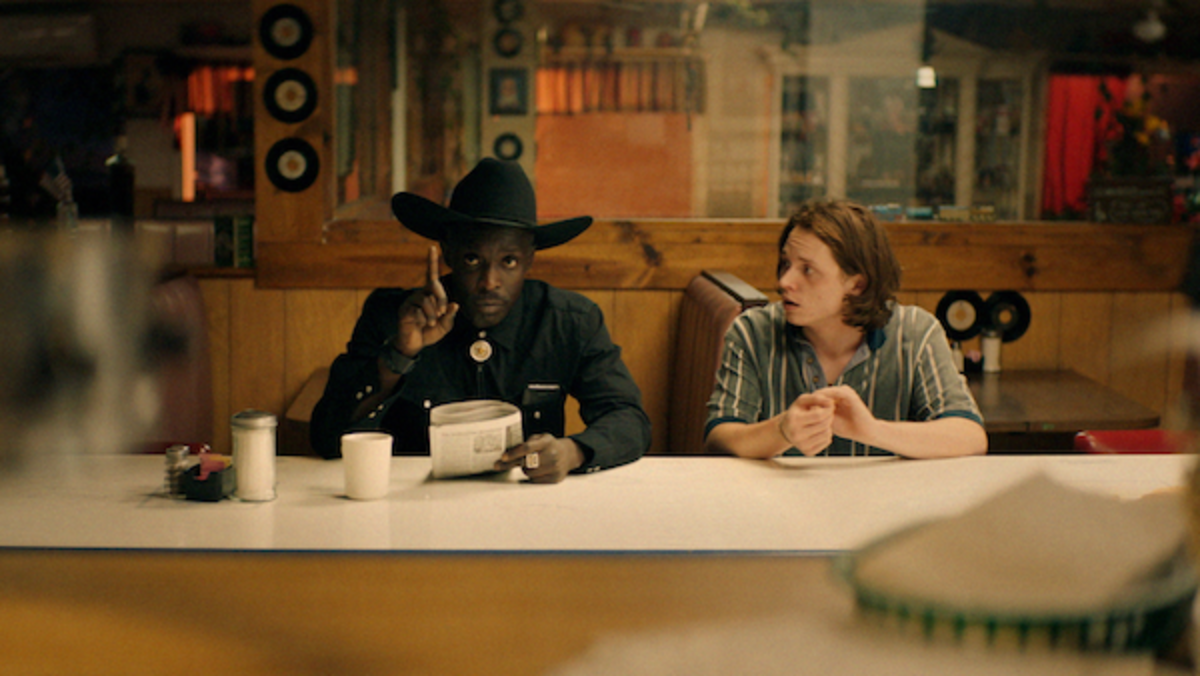 [L-R] Michael Kenneth Williams as Wood and Jack Kilmer as Utah in the thriller BODY BROKERS, a Vertical Entertainment release. Photo courtesy of Vertical Entertainment.