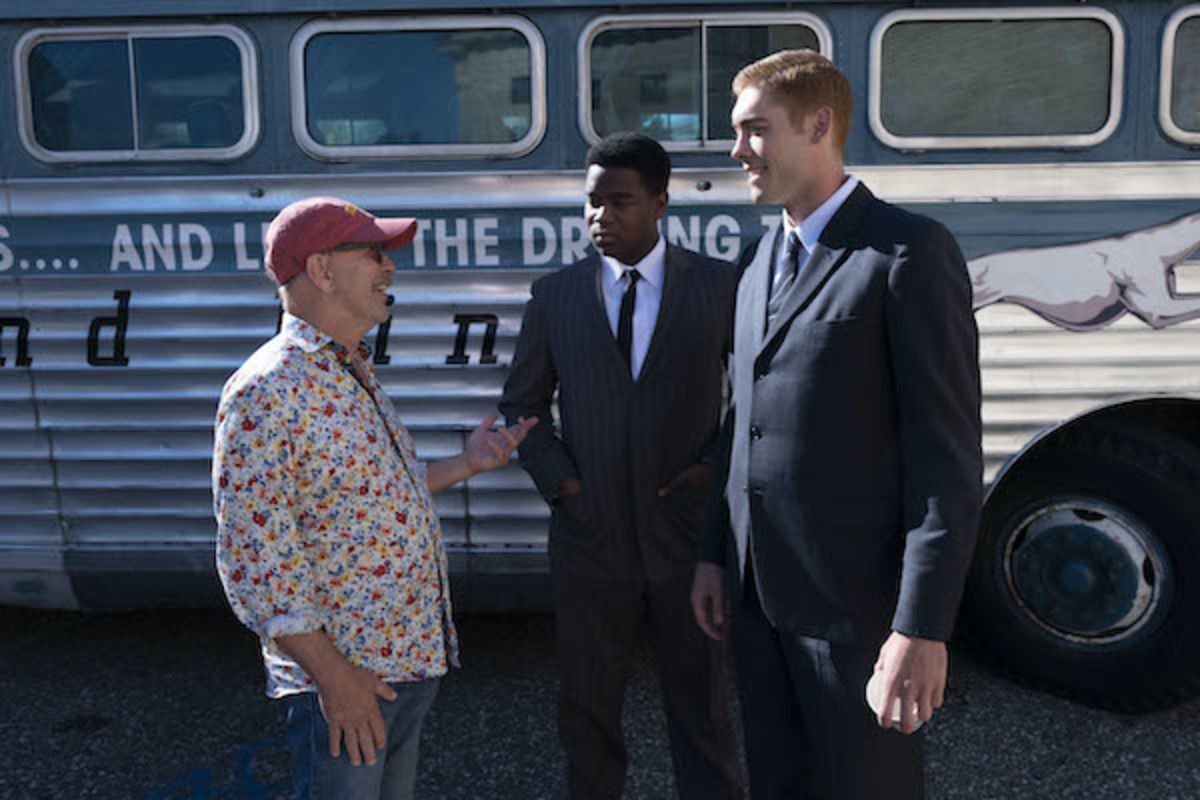Barry Alexander Brown on set 'Son of the South', courtesy of Vertical Entertainment
