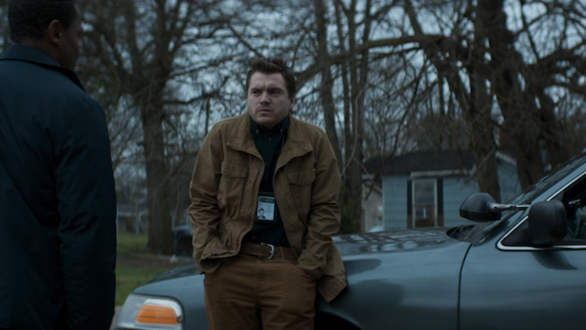 Emile Hirsch as Paul in the horror film SON, a RLJE Films/Shudder release. Photo courtesy of RLJE Films.
