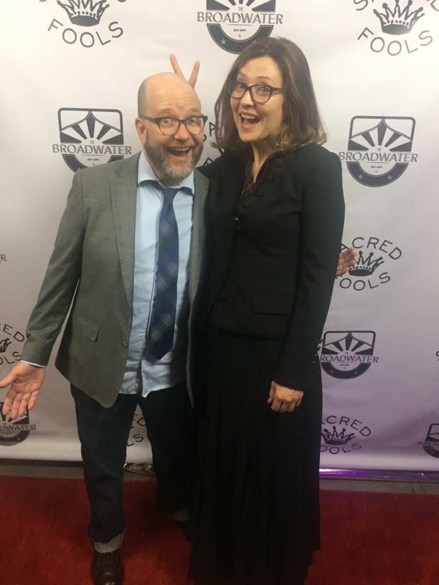 Bob DeRosa and Rebecca Larsen