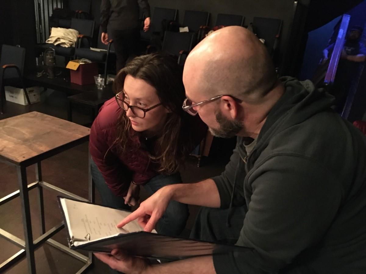 Rebecca Larsen and Bob DeRosa