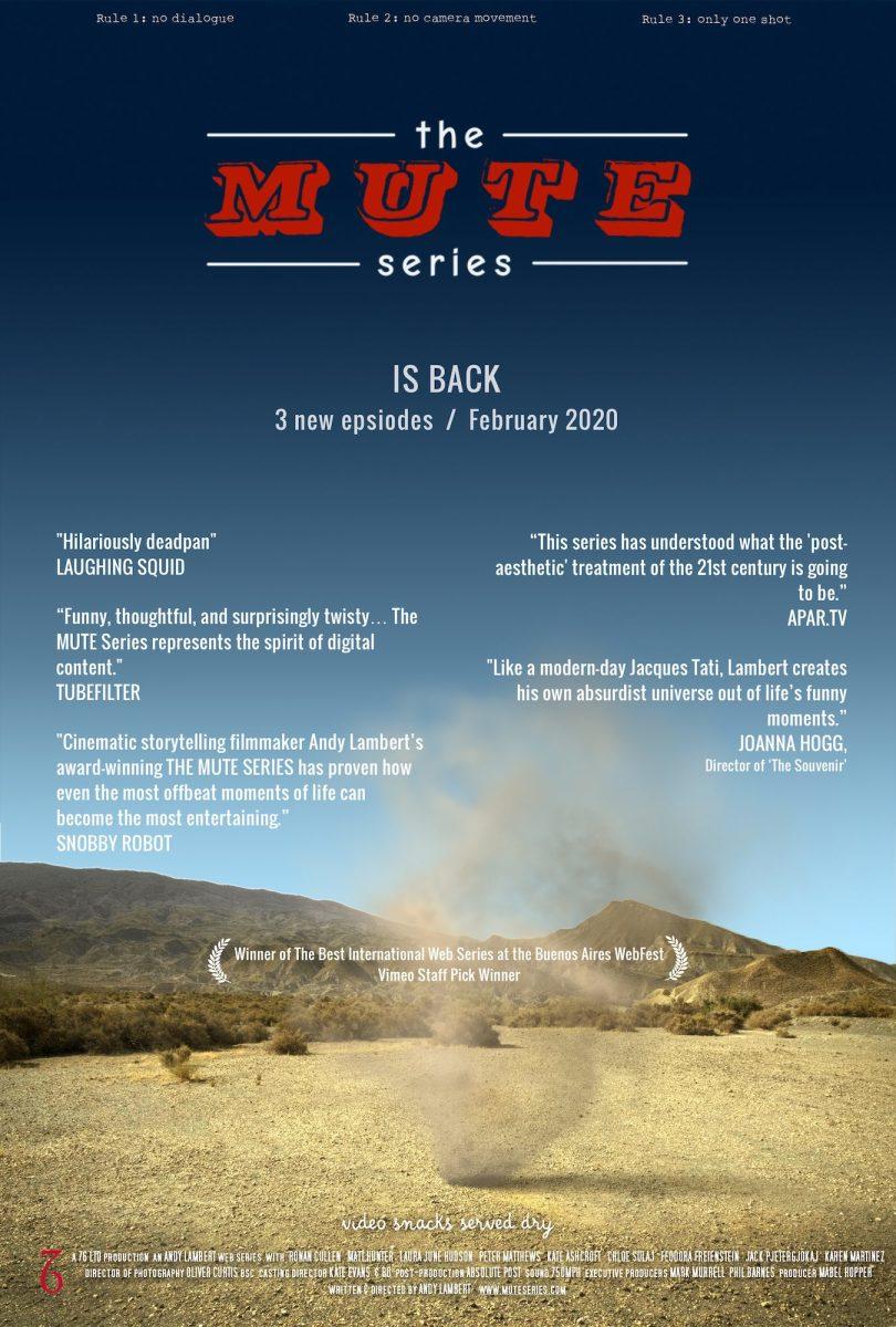 MUTE Series Poster, Andy Lambert