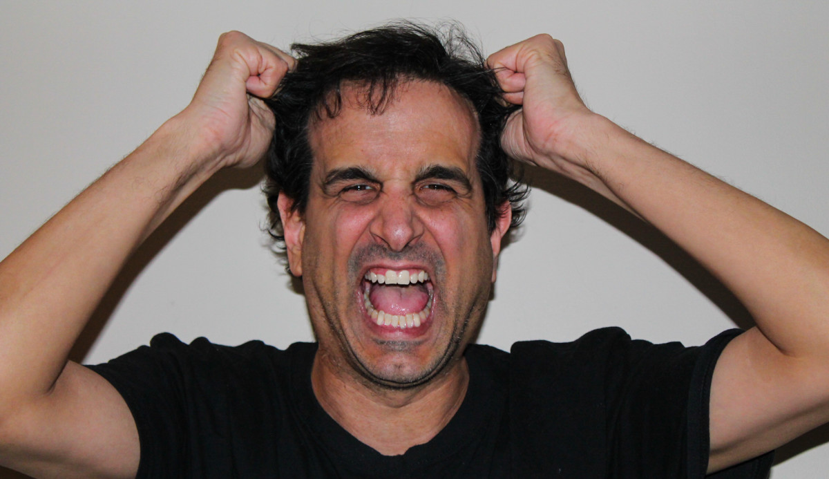 Yes, Joe pulls his hair out.