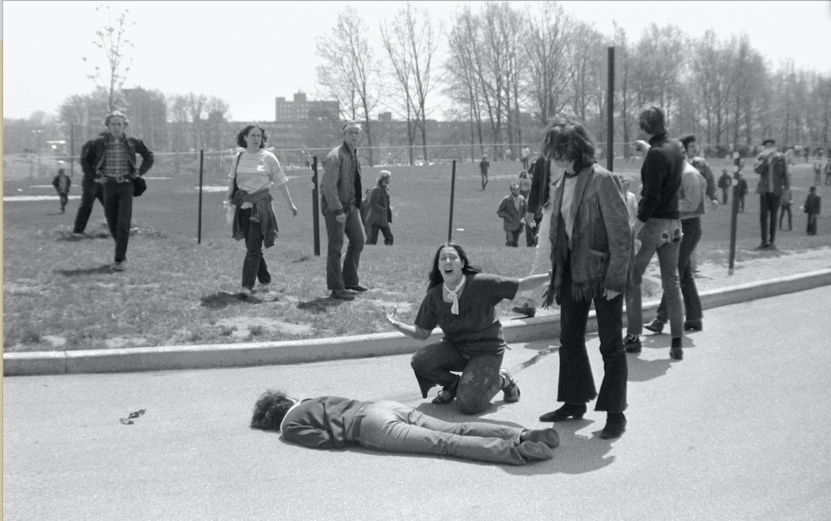Kent State University May 4, 1970 - Getty Images
