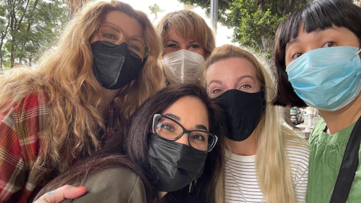 LA-based Haunted Hangouts Crew members. Photo by Thuc Nguyen.