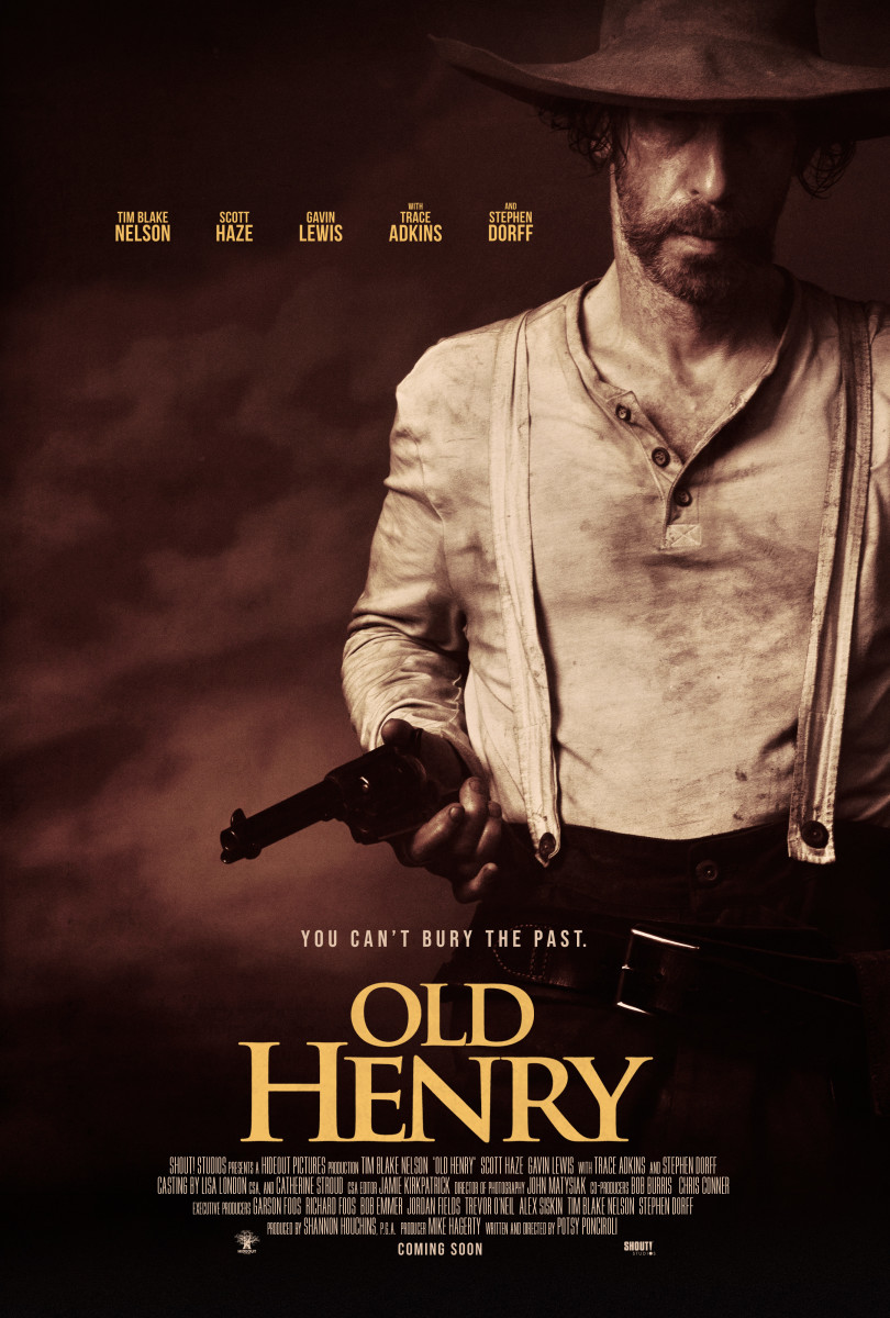 OLD HENRY THEATRICAL POSTER North America 2700x4000