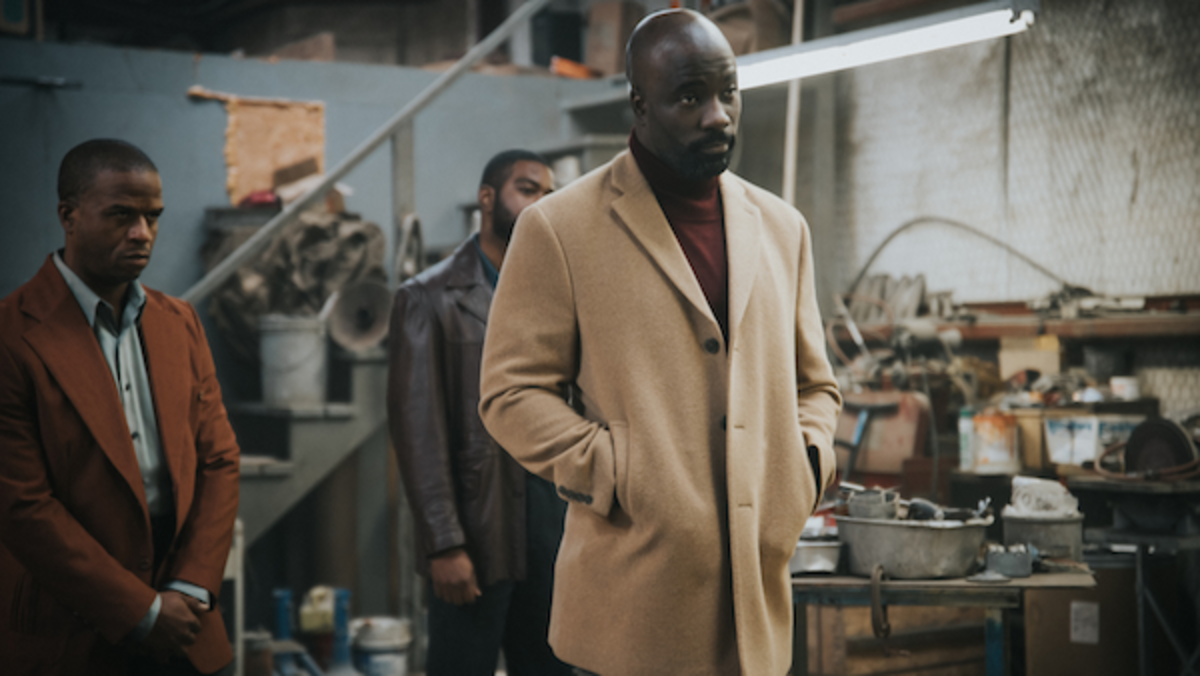 Mike Colter as Price in the action/drama film, SOUTH OF HEAVEN, an RLJE Films release. Photo courtesy of RLJE Films.