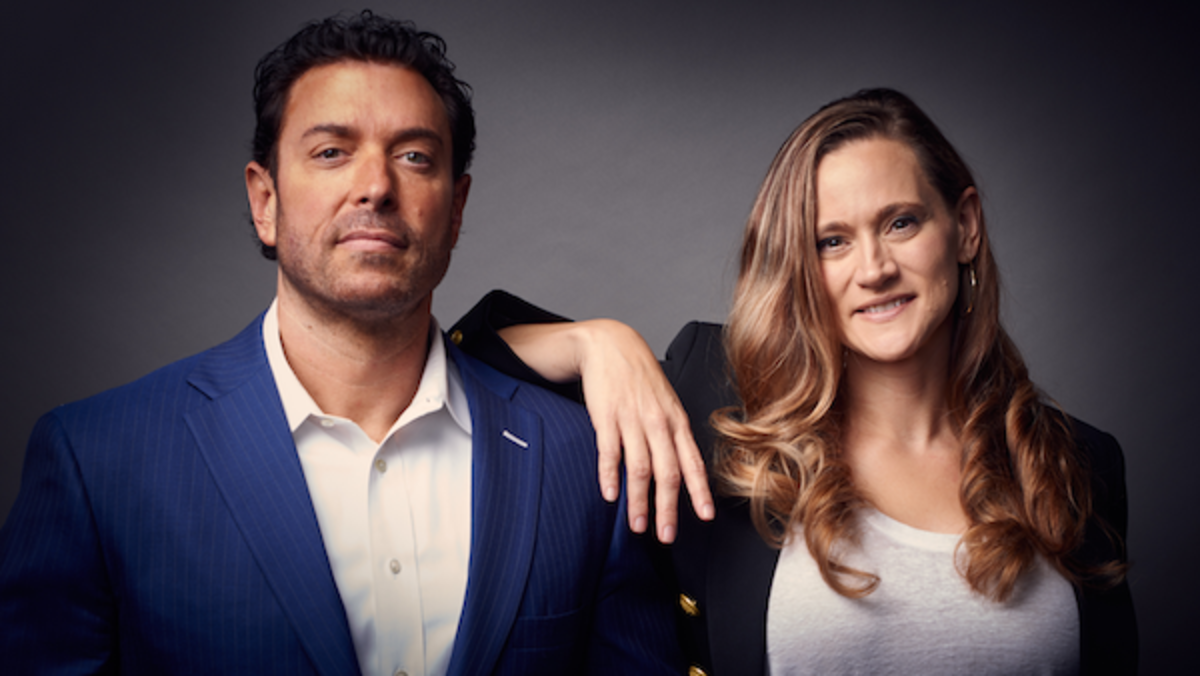 [L-R] Scott Pryor and Laura Pryor, Pryor Entertainment