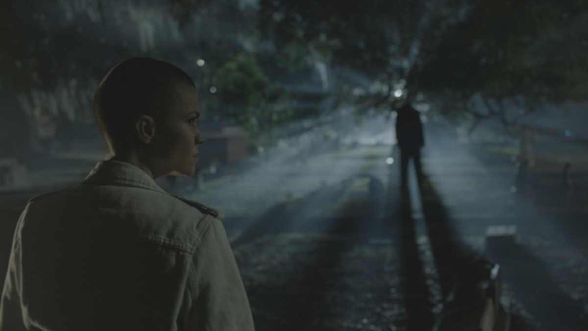 Ruby Rose as Victoria in the action, crime, thriller, VANQUISH, a Lionsgate and Grindstone Entertainment Group, a Lionsgate Company release. Photo courtesy of Lionsgate.
