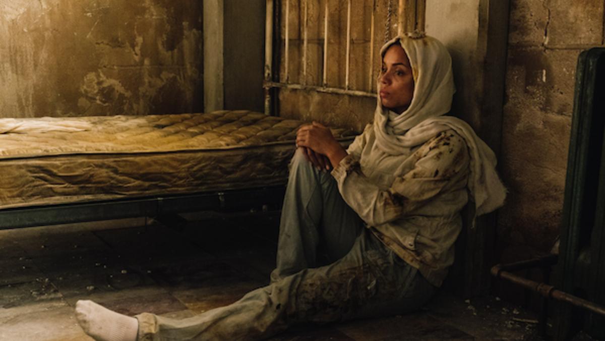 Georgina Campbell as Khadija Young in the thriller WILDCAT, a Saban Films release. Photo courtesy of Saban Films.