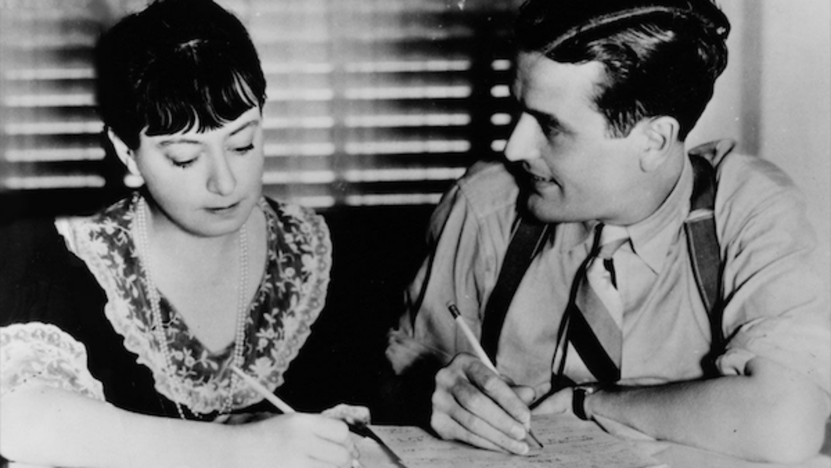 Dorothy Parker and Alan Campbell