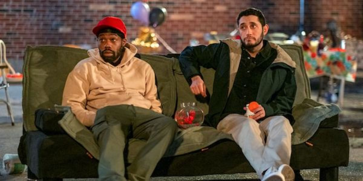 [L-R] Kevin Iso and Dan Perlman in Flatbush Misdemeanors, Showtime