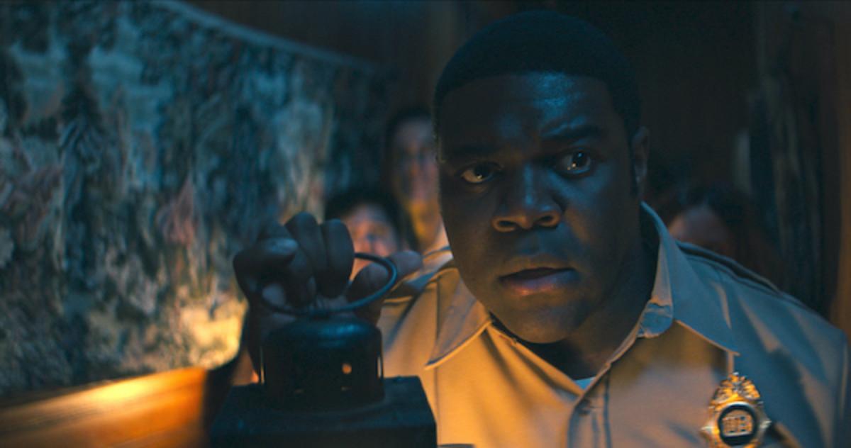 """Sam Richardson as """"Finn Wheeler"""" in Josh Ruben's WEREWOLVES WITHIN.Courtesy of IFC Films."""