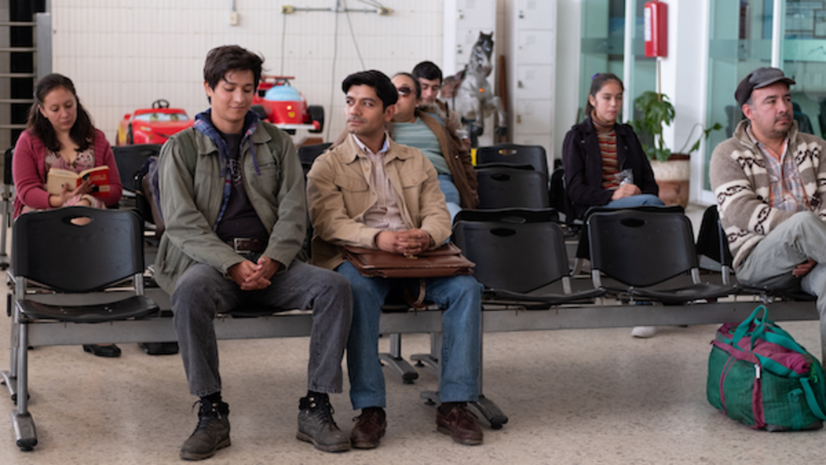 CHRISTIAN VÁZQUEZ as Gerardo & ARMANDO ESPITIA as Iván in I CARRY YOU WITH ME. Photo by Alejandro Lopez Pineda. Courtesy of Sony Pictures Classics. (1)