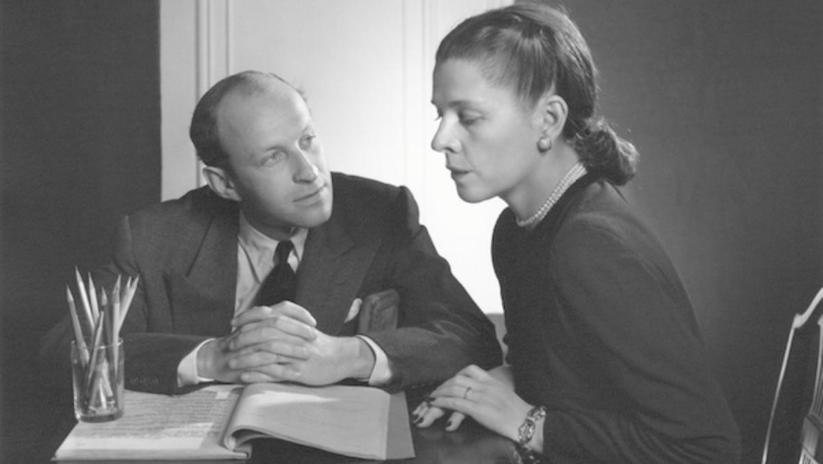 Garson Kanin and Ruth Gordon