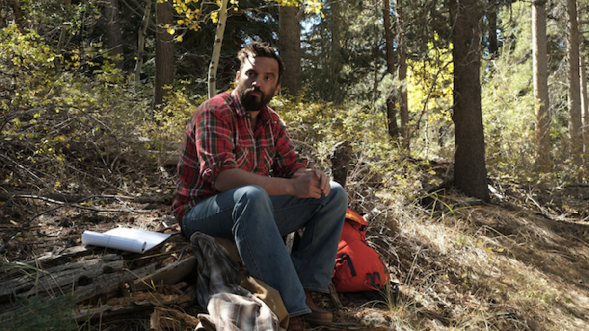 Jake Johnson as Leif in the comedy, RIDE THE EAGLE, a DECAL release. Photo courtesy of DECAL.