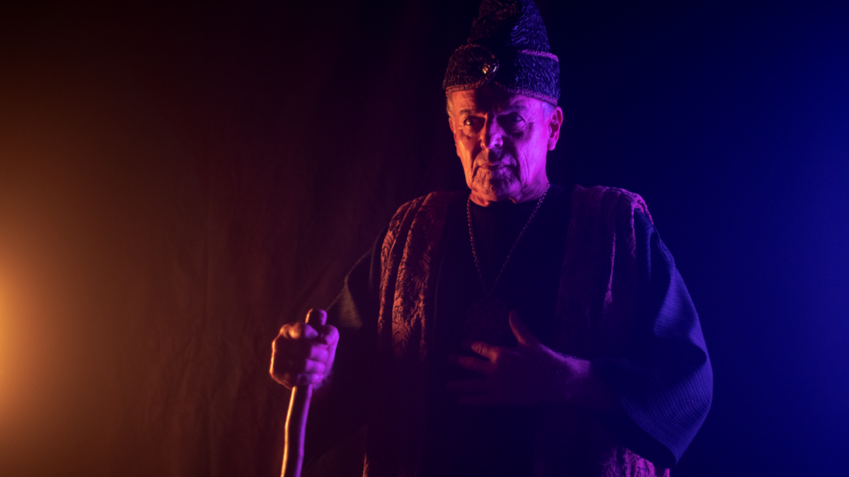 Ray Wise as Merlin in the comedy KING KNIGHT, a King Knight LLC release. Photo courtesy of King Knight LLC.