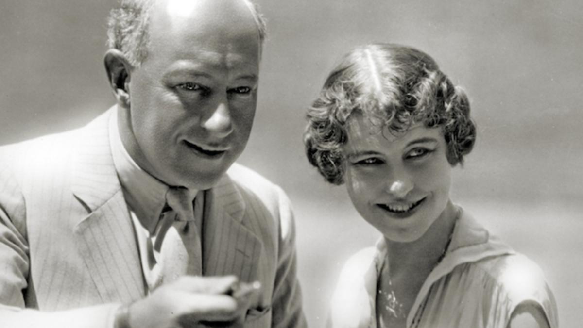 Cecil B. DeMille and Jeanie MacPherson. Courtesy Cecil B. De Mille Foundation.