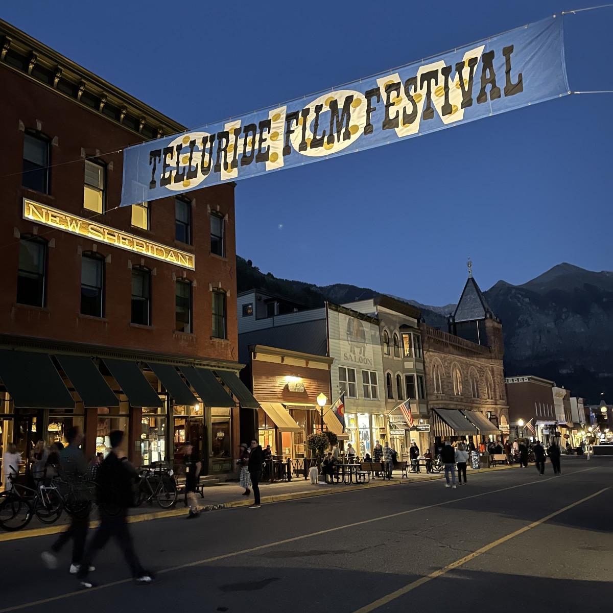 Last night of the Telluride Film Festival 2021 - Photo by Christopher Schiller
