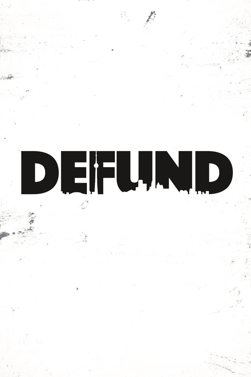 Official DEFUND poster by Akilah Abdullah of @desakiigraphics