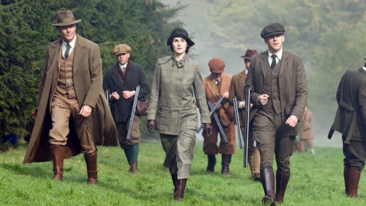 Downton Abbey, PBS.